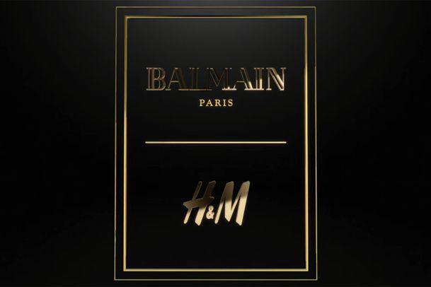 Suradnja Balmaina i H&M-a uskoro će ugledati svjetlo dana