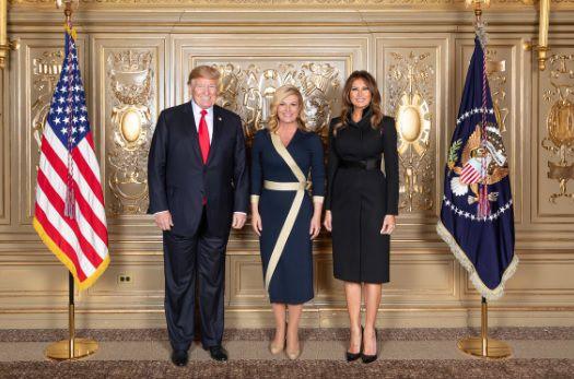 Haljina koju je Kolinda nosila kod Trumpa rasprodana je u rekordnom roku