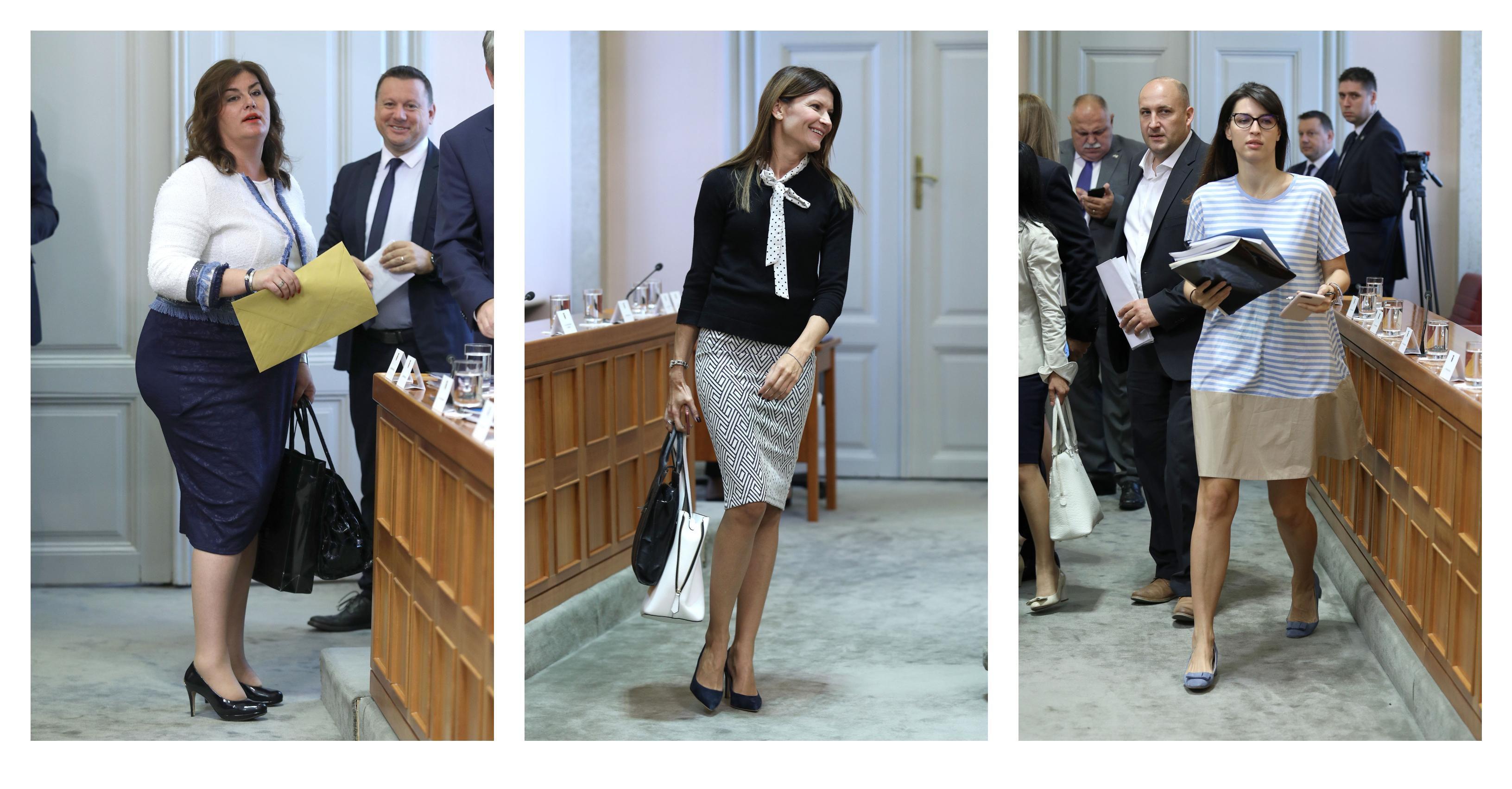 Gabrijela Žalac, Sabina Glasovac, Tena Mišetić... Modna savjetnica prokomentirala outfite zastupnica za prvo zasjedanje