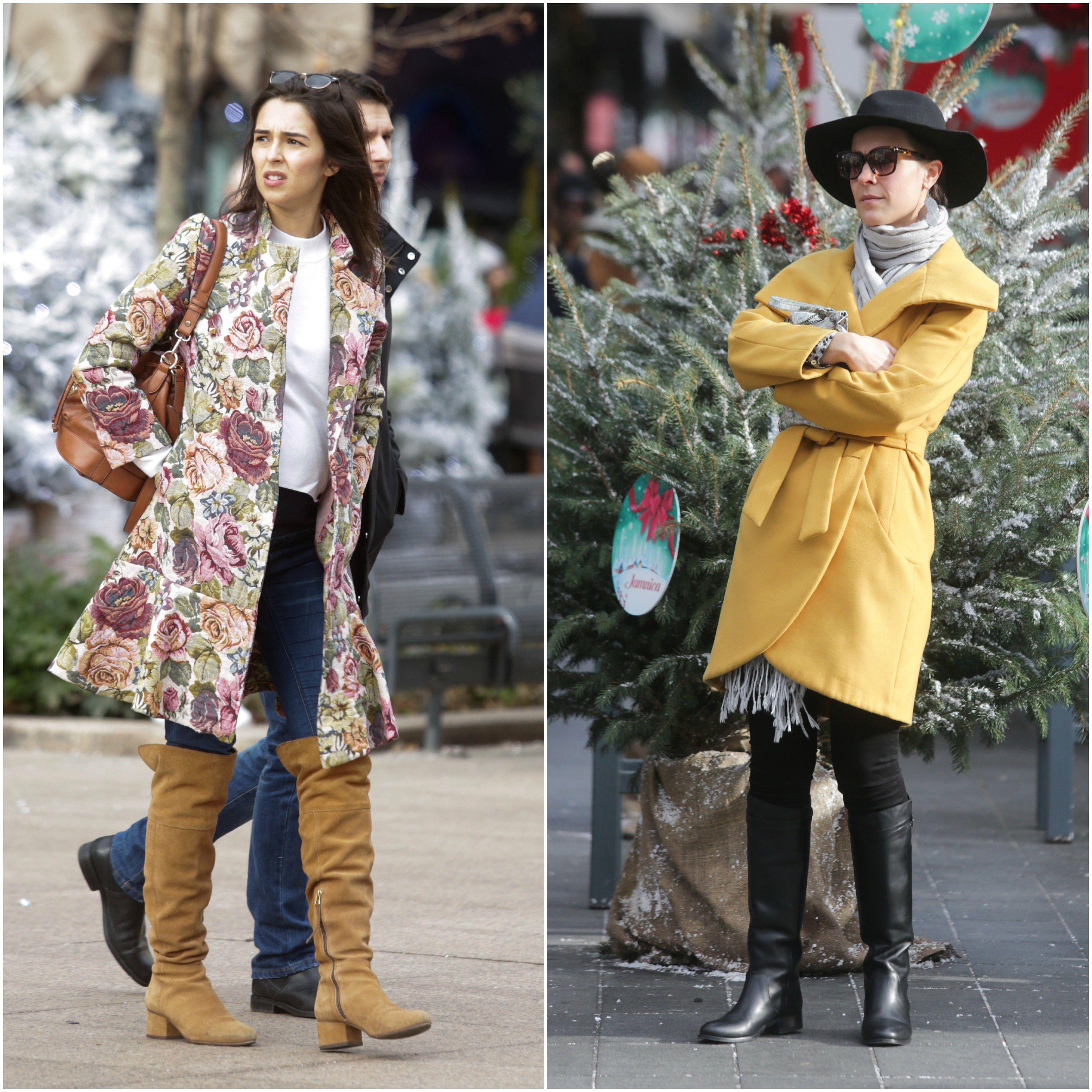 One su svojim kaputićima razvedrile zimski dan - koja ima bolji styling?