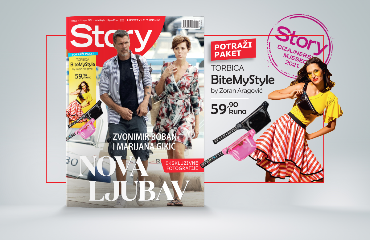 Story dizajnerski paket – neodoljiva torbica BiteMyStyle by Zoran Aragović!