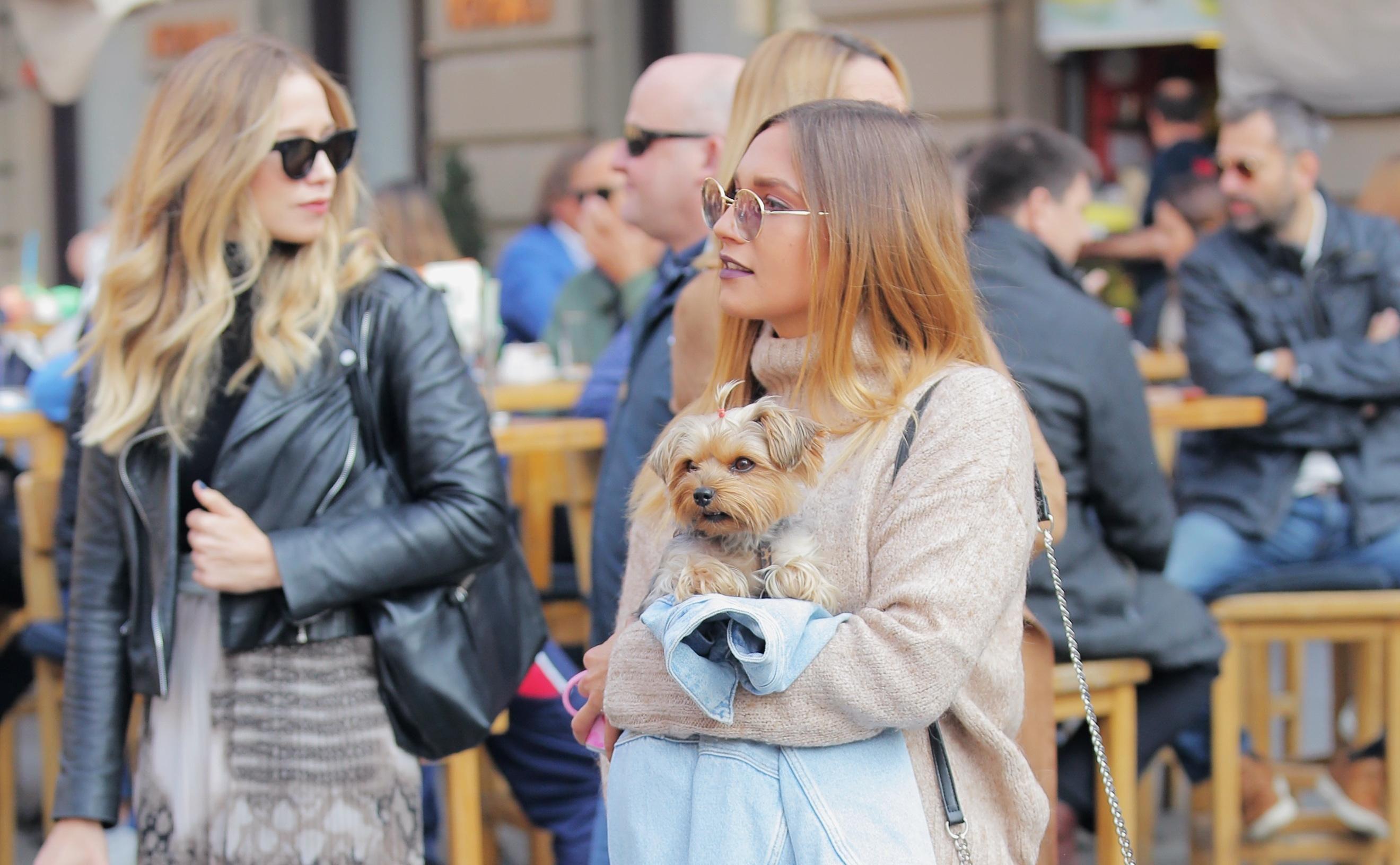 Ova ljepotica i njen psić bili su prave zvijezde zagrebačke špice