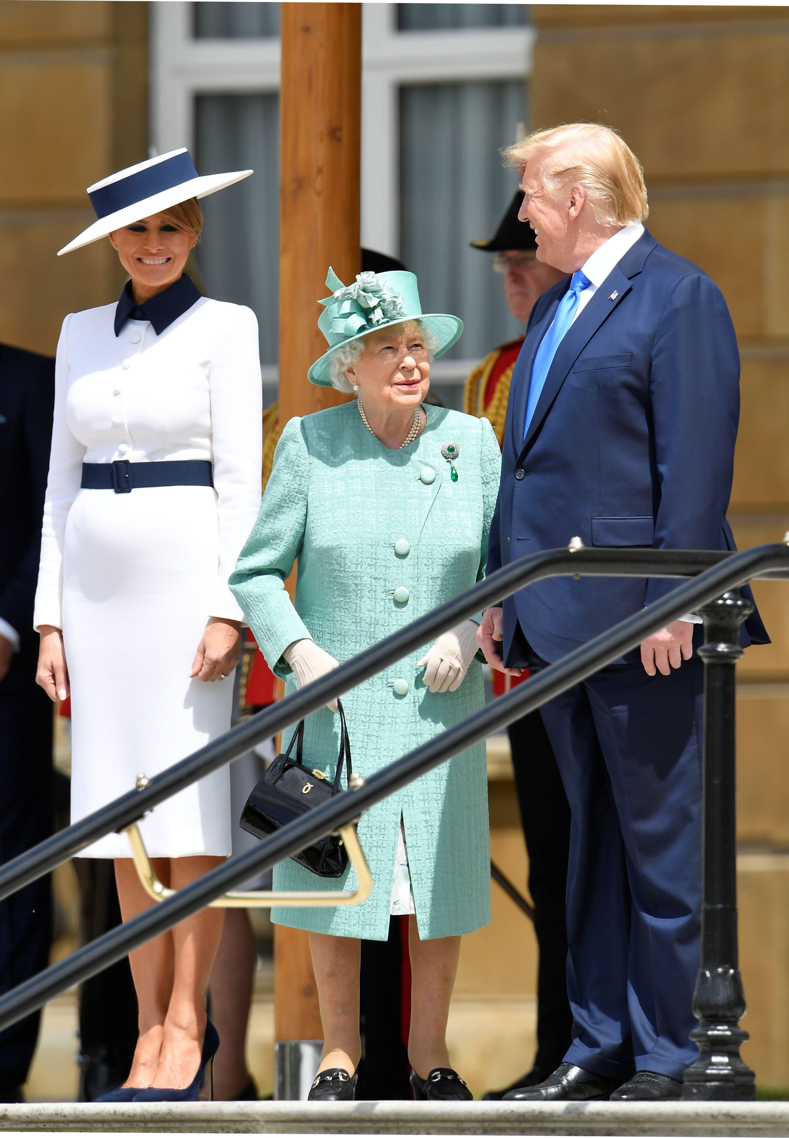 Fotografija Melanije Trump u bijelom kompletiću zbunila je sve!