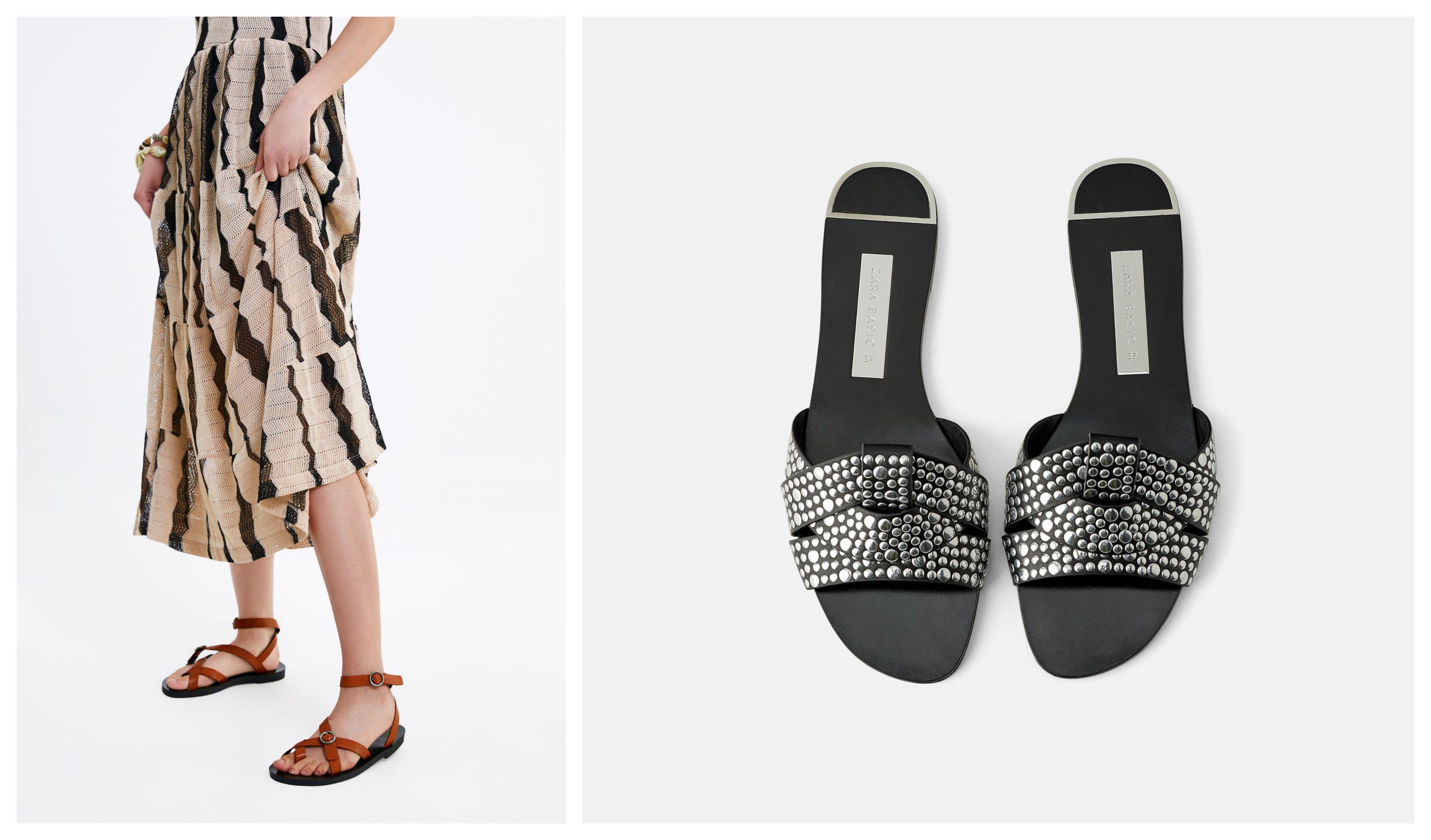 Nema potpetice, nema problema: Izabrali smo 10 najljepših ravnih sandala iz Zare