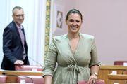 Ivana Ninčević Lesandrić u Saboru baš poput Rachel iz Prijatelja