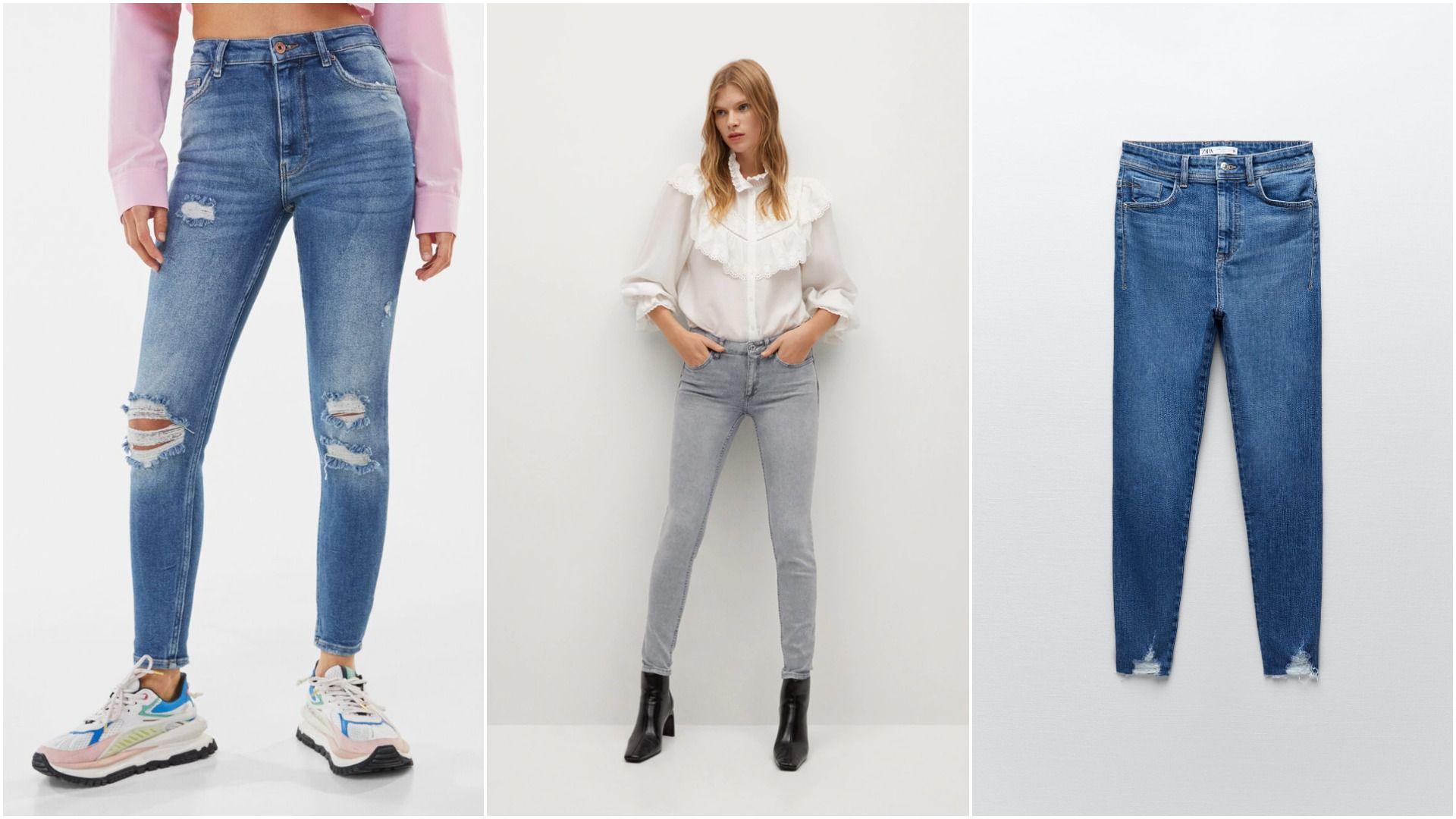 Skinny jeans nikad ne izlazi iz mode: Izaberite favorita među modelima od 99,90 kn