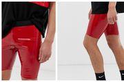 ASOS prodaje biciklističke hlačice od crvenog lateksa za muškarce