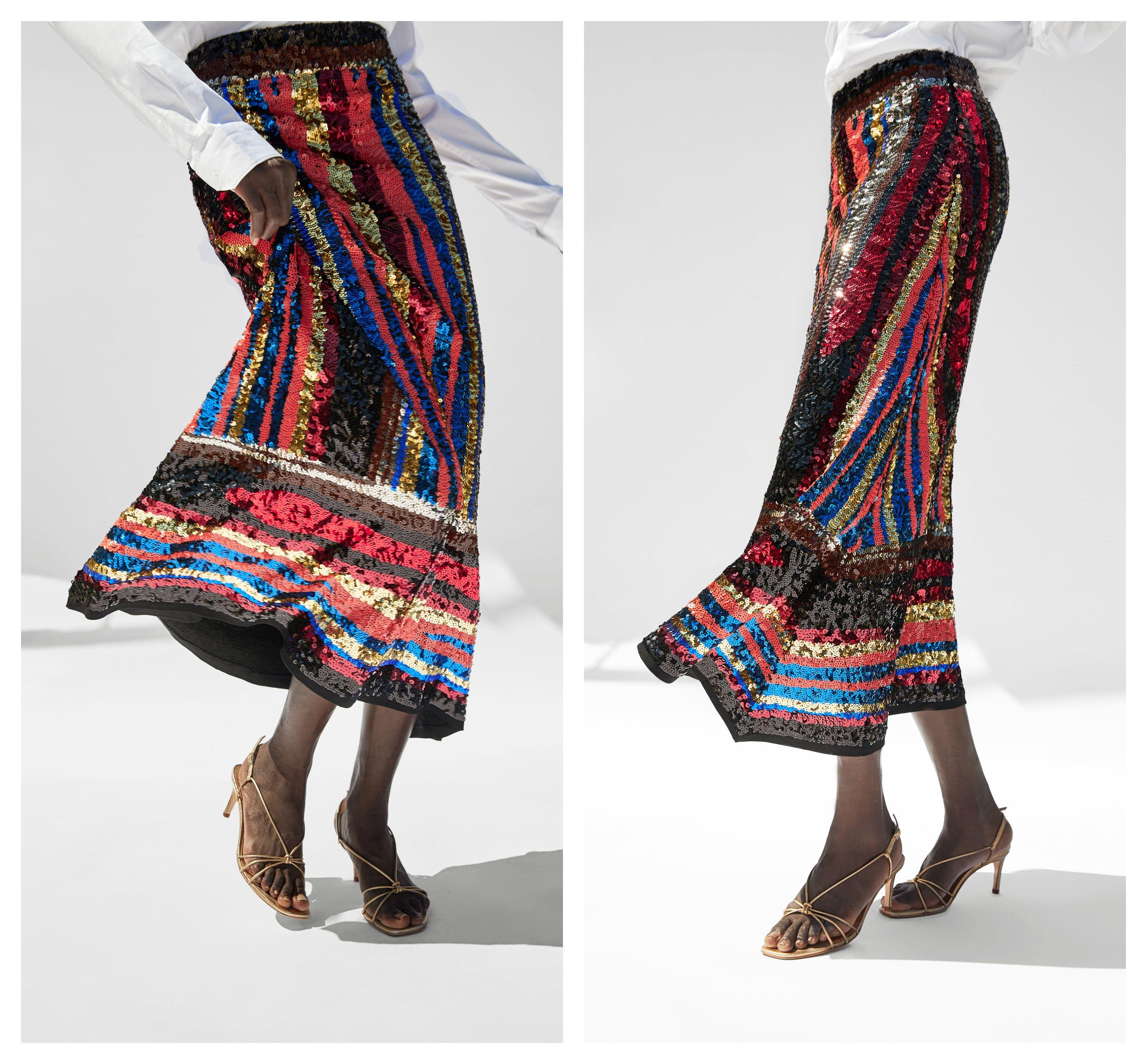 Još jedna šljokičasta suknja iz Zare koja će osvojiti trendseterice