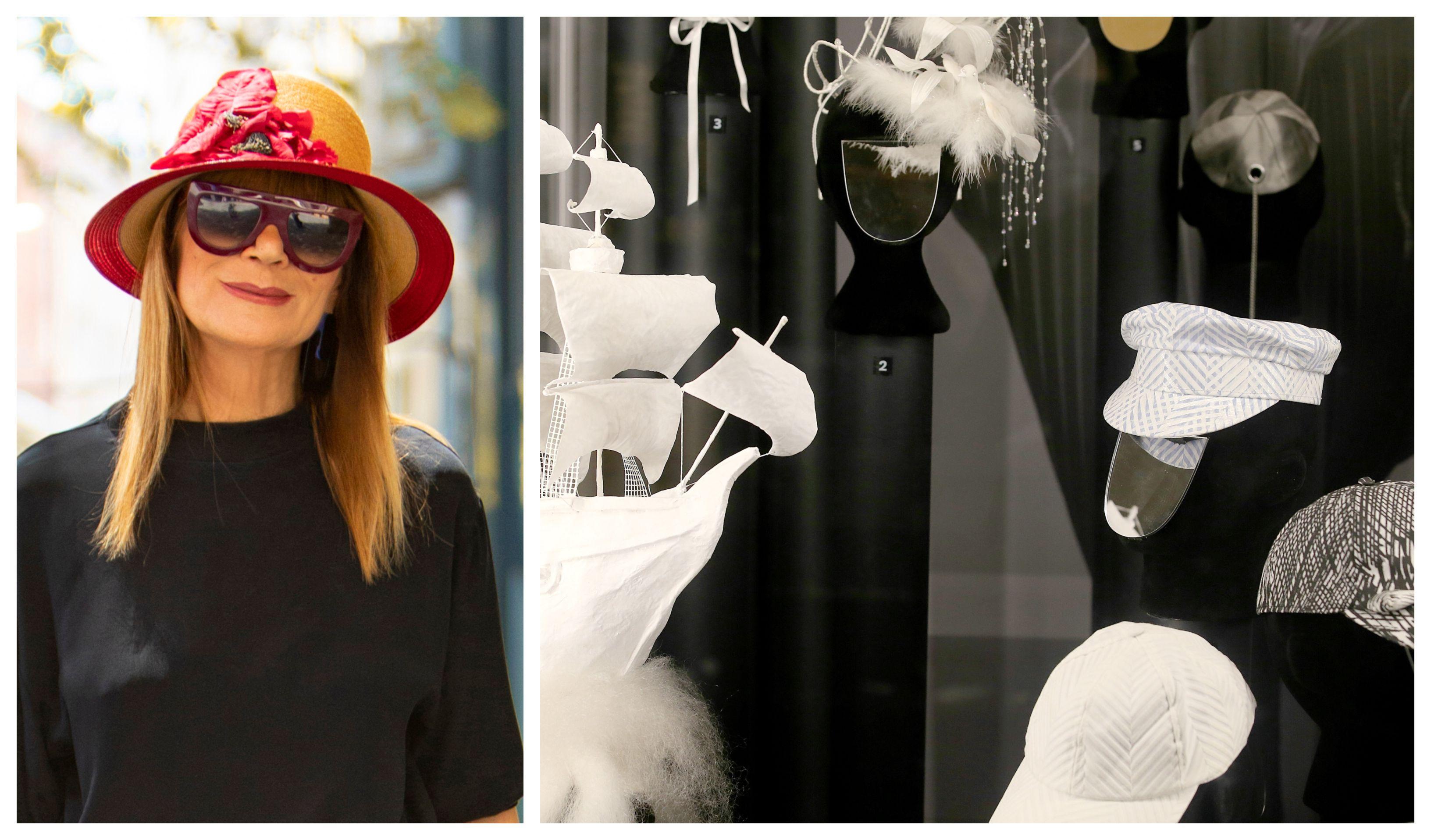 Svi senzacionalni šeširi Đurđe Tedeschi našli su se u zagrebačkom muzeju