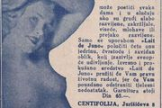 """Oglas za """"lijepe grudi"""" iz 1935.: """"Proizvod koji će pružiti jedrinu, čvrstoću i zavidan oblik i izazvati sveopće divljenje"""""""