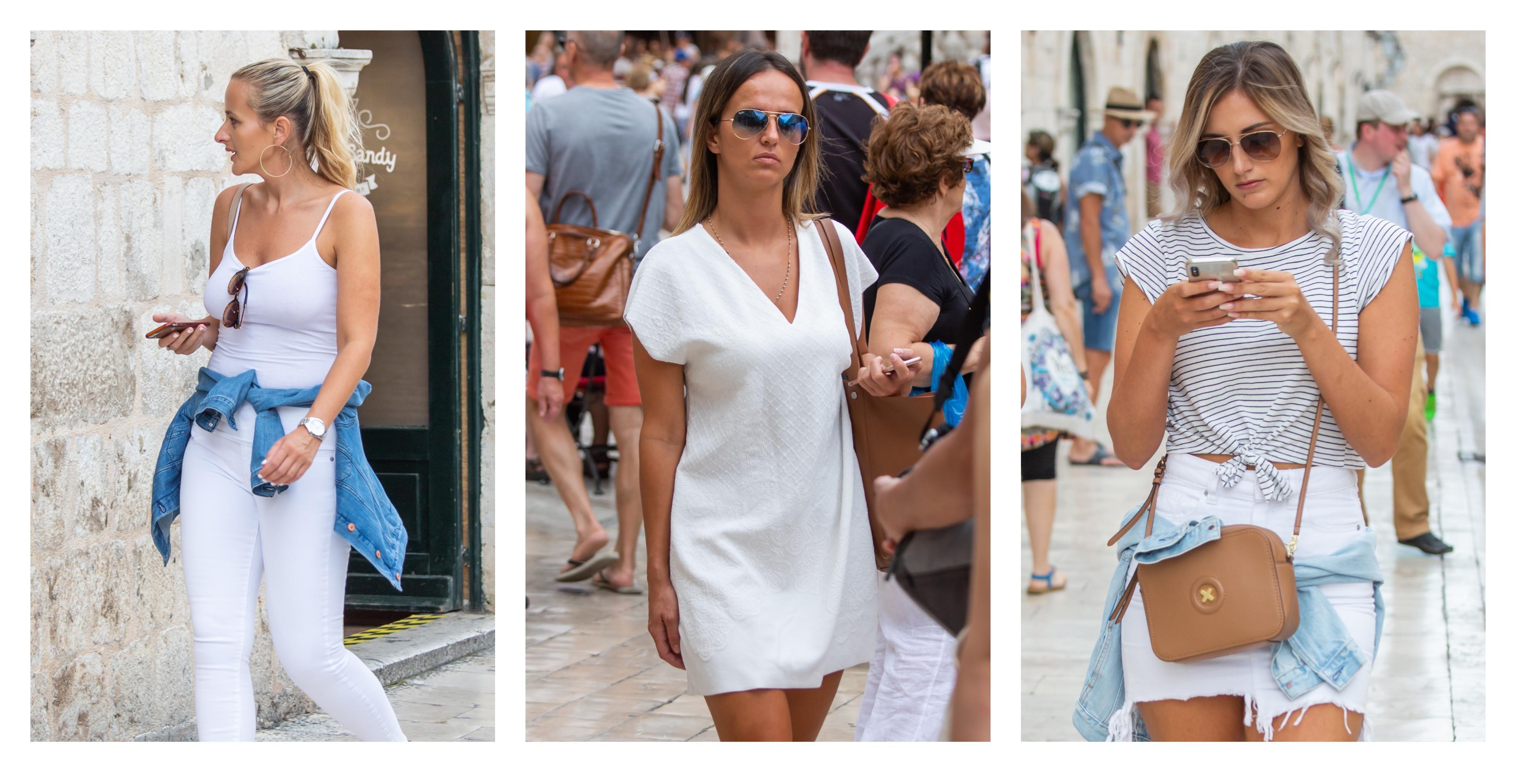Cure u Dubrovniku obožavaju bijelo od glave do pete - koja ljepotica ima bolji styling?