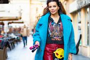 Neobična torbica, cool hlače i visoke potpetice - Nikolina Ristović outfitom ukrala pozornost