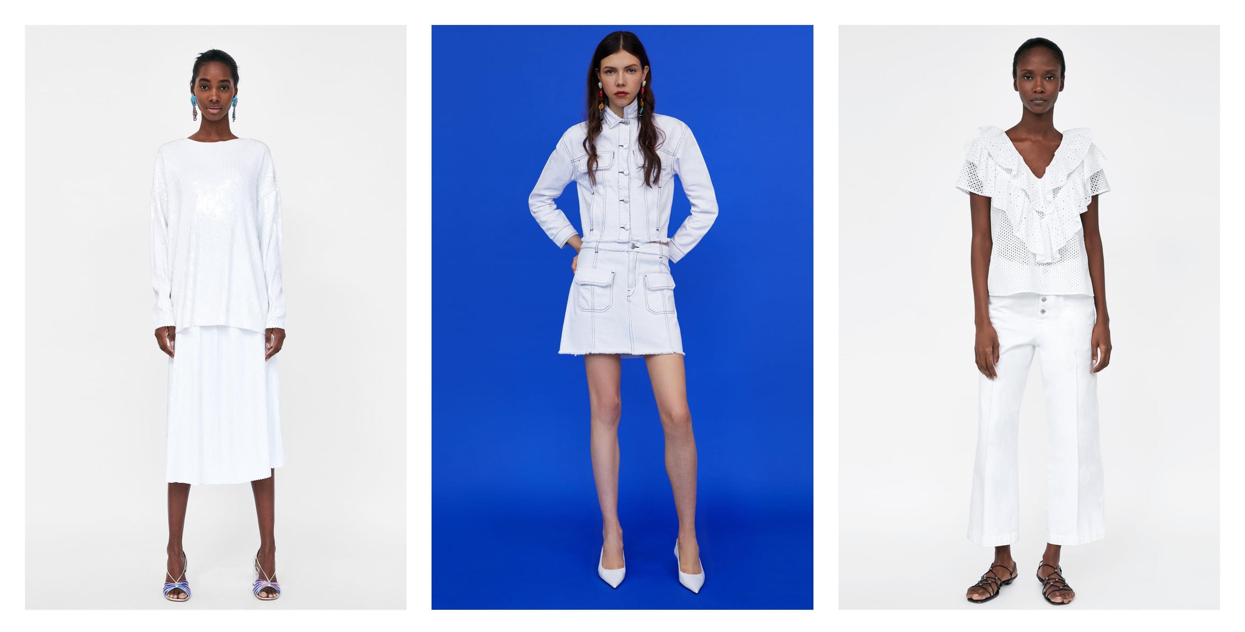 Nosi se bijelo od glave do pete: Inspirirajte se najljepšim kombinacijama koje predlažu iz Zare