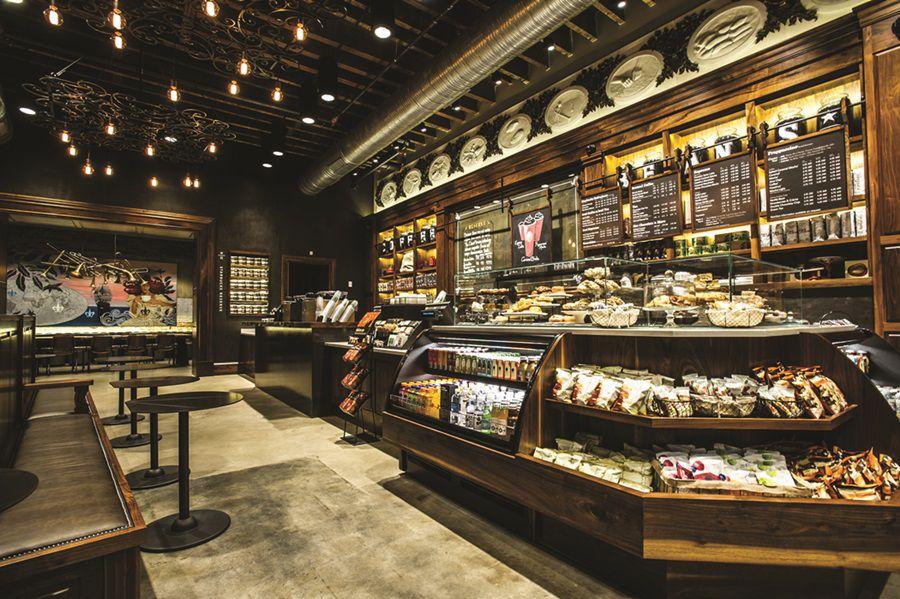 Kaveni div Starbucks