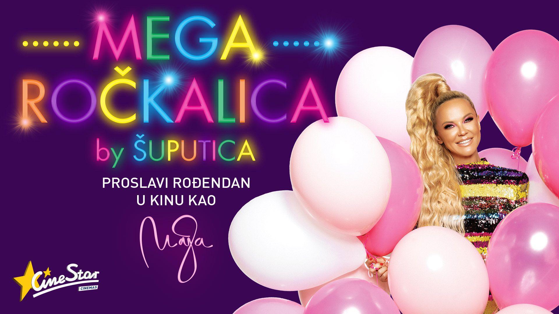 'Megaročkalica by Šuputica' - novi koncept proslave dječjih rođendana u Cinestar kinima