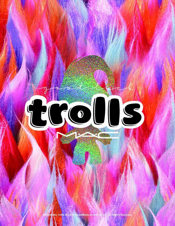 Ekskluzivno: MAC predstavlja preslatku Good Luck Trolls kolekciju!