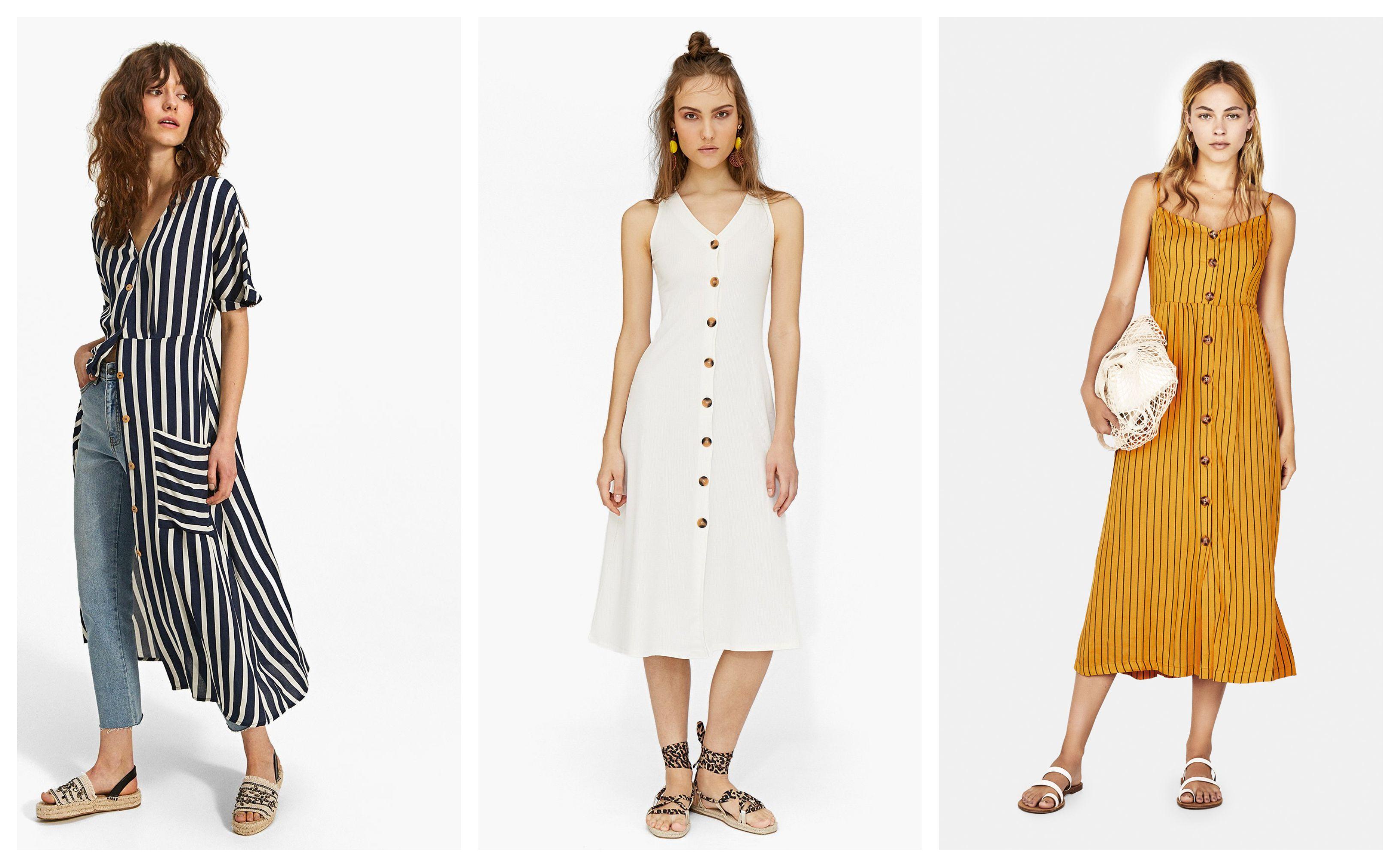 Dugme, puce, gumb: Zovite kako želite, a haljine na kopčanje su hit ove sezone!