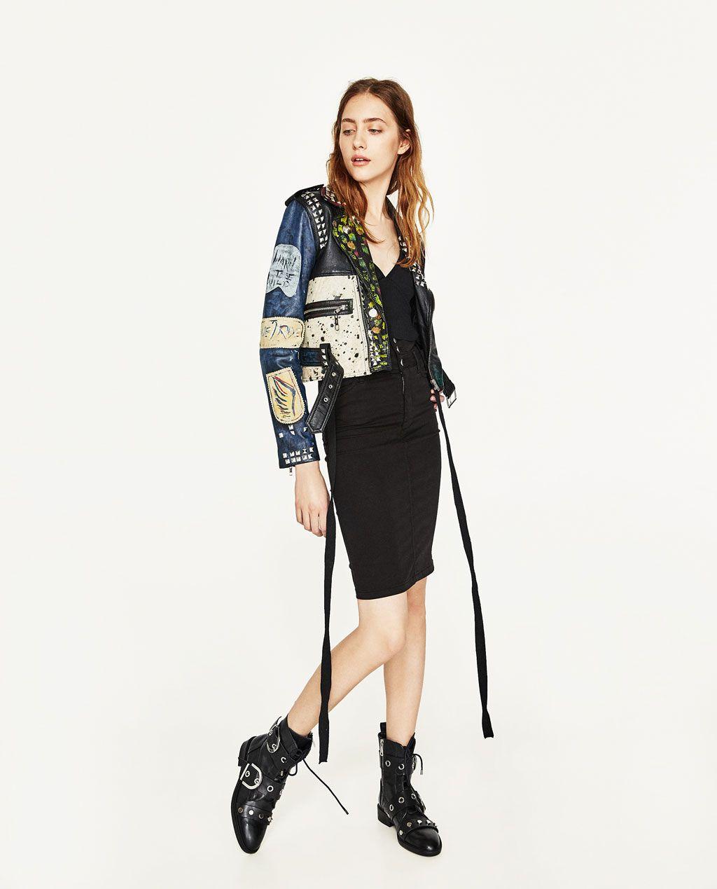 Na listi želja: fantastična kožna jakna iz Zare