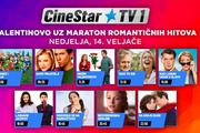 Valentinovo će biti još romantičnije uz filmske hitove na CineStar TV1 kanalu