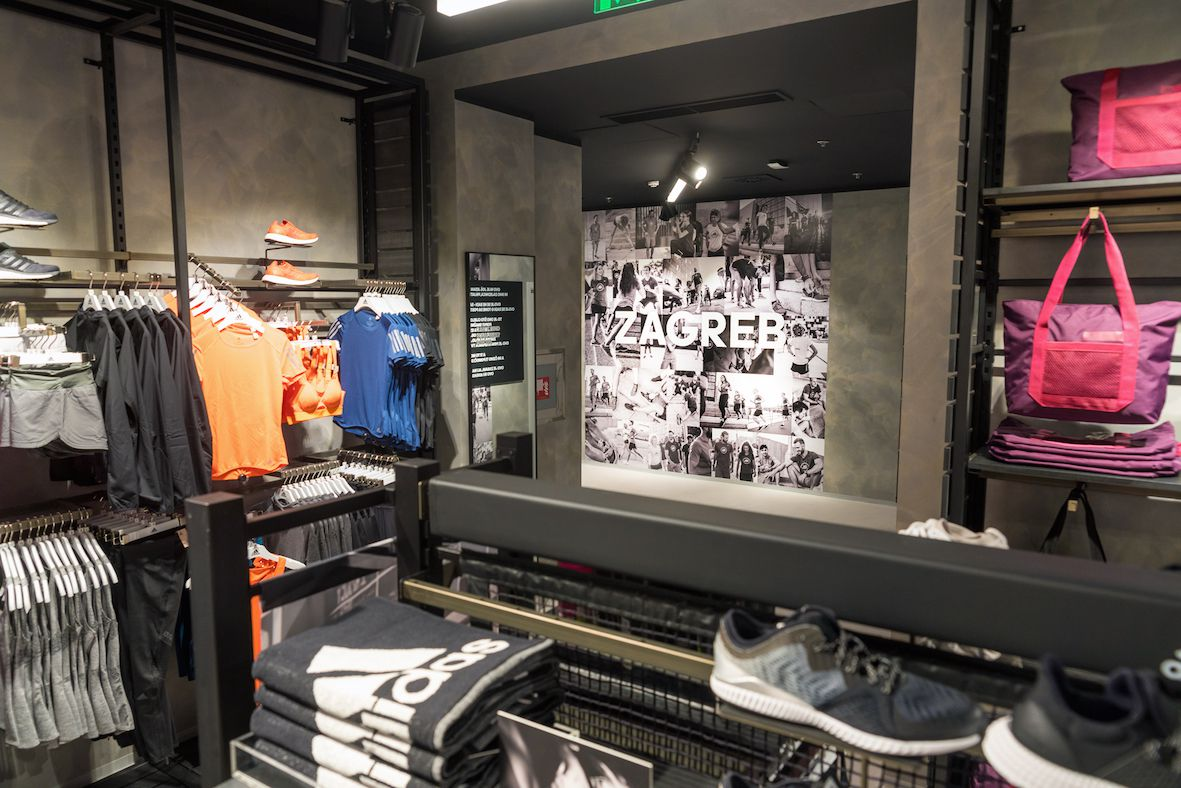 U Zagrebu otvoren najveći adidasov shop u Hrvatskoj
