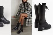 Visoke, crne i neodoljive: Vrijeme je za combat čizme, najtrendi model bez kojeg je zima pred nama nezamisliva