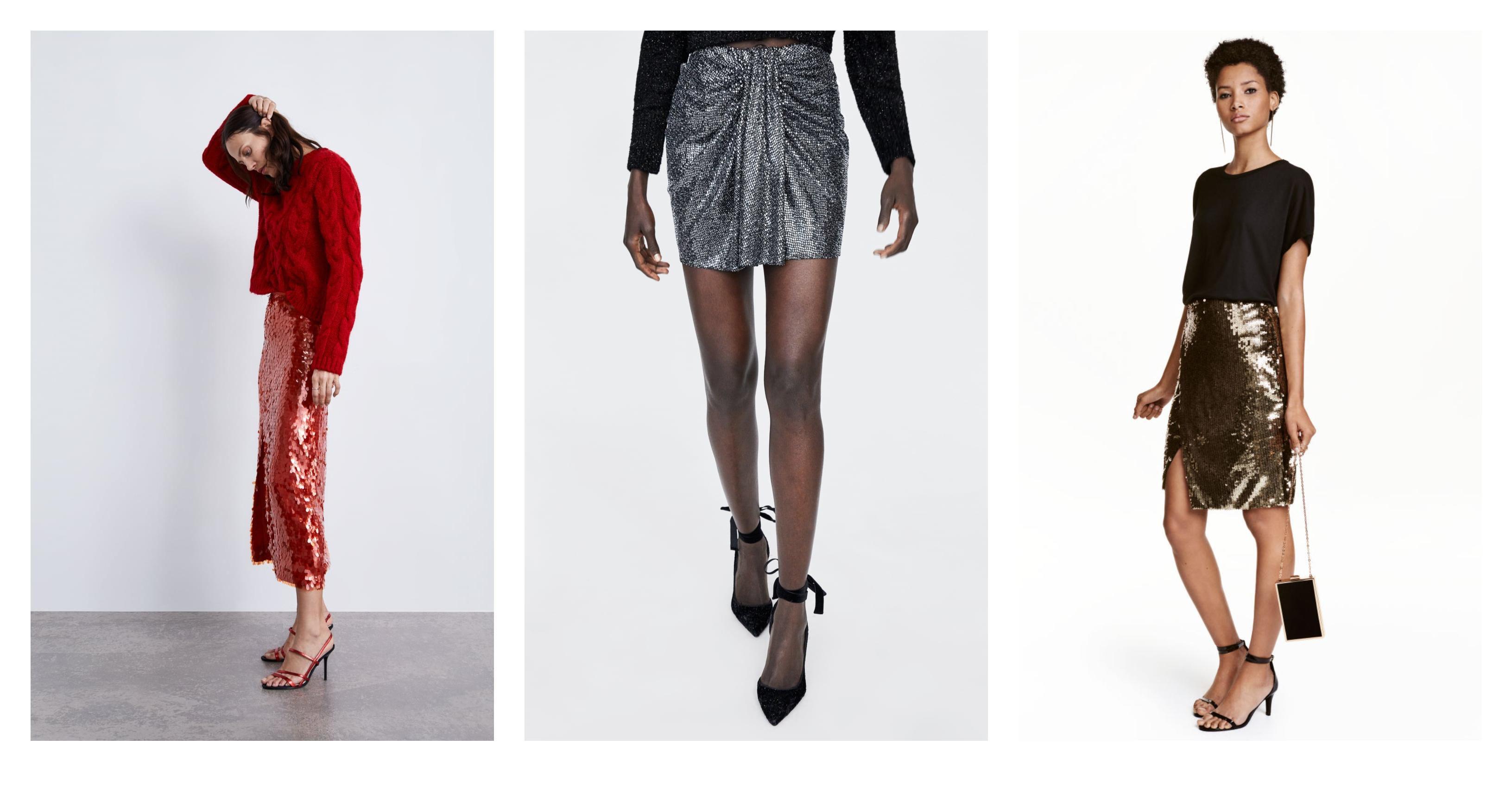 Ima li što bolje za predbožićno vrijeme od - šljokičastih suknji? Pa, naravno da ne!