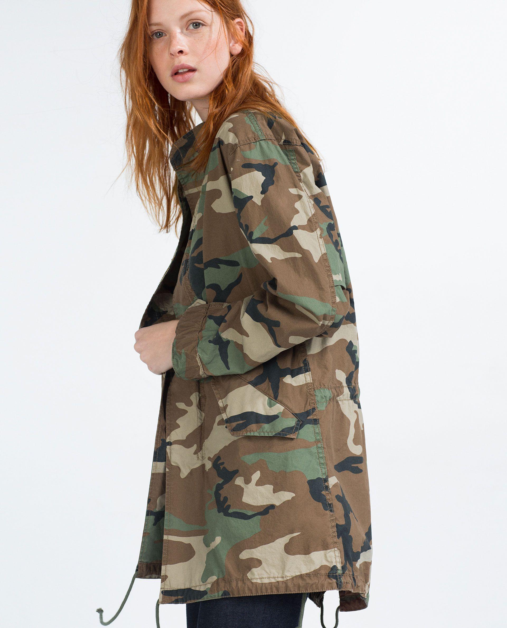 Military stil za proljeće