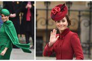 Kate u crvenom ili Meghan u zelenom: Obje su blistale, no koja je vojvotkinja pokazala bolji outfit?