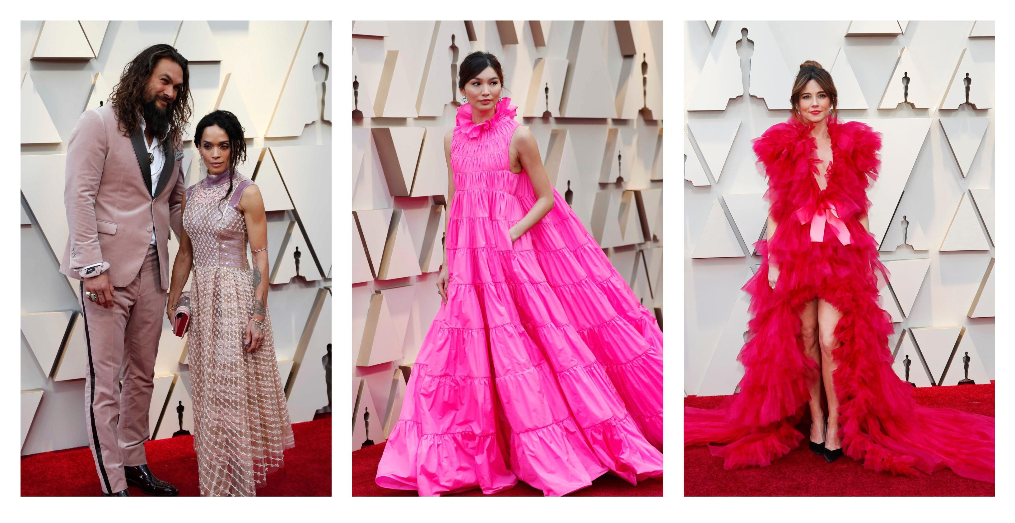 Na crvenom tepihu nikad nismo vidjeli toliko ružičastih haljina kao na ovogodišnjim Oscarima
