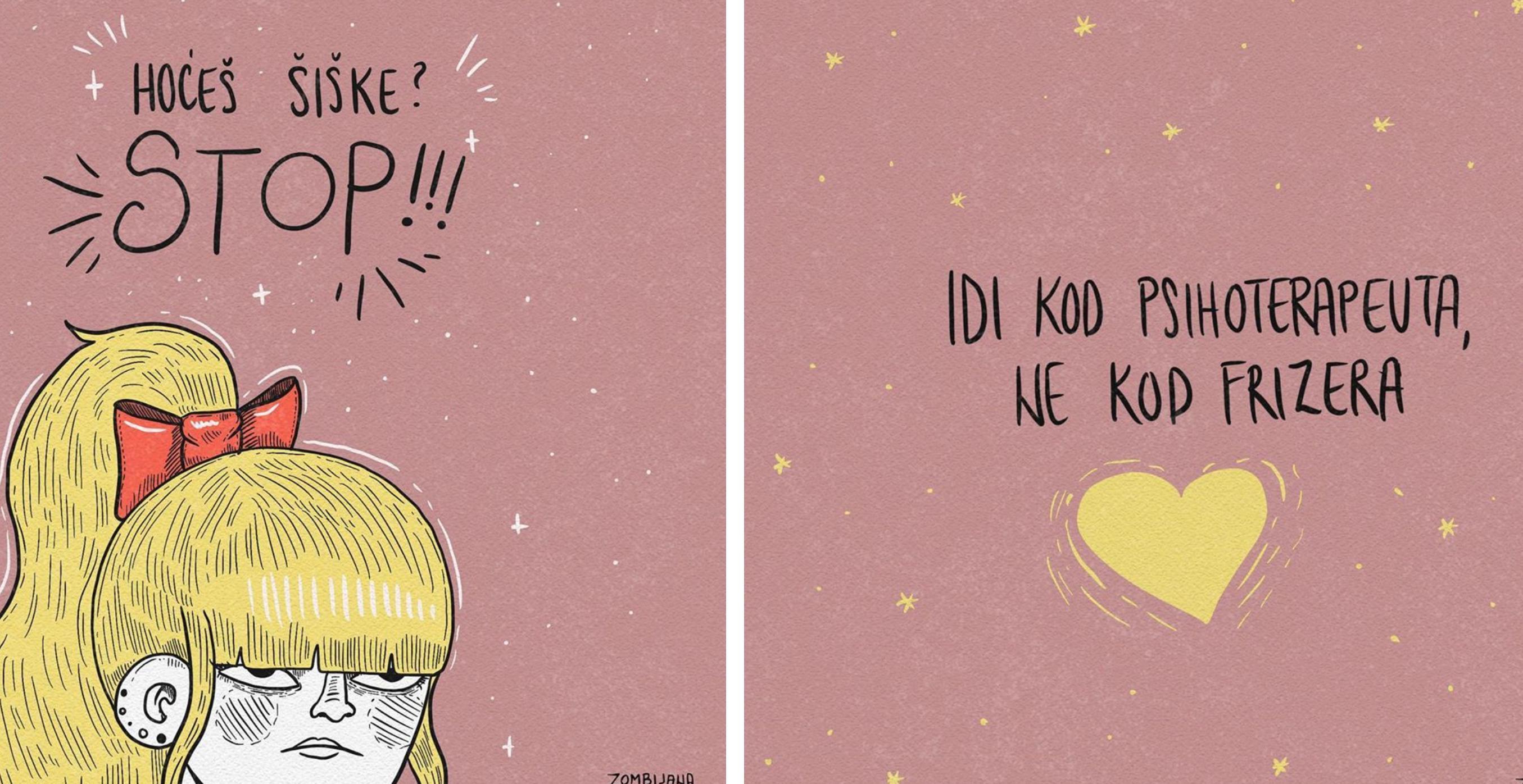 Popularna ilustratorica objavila šaljivu ilustraciju namijenjenu svima koji žele ošišati šiške
