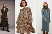 Najljepše haljine iz high street dućana od 139 kn koje će odlično izgledati u kombinaciji s kožnom jaknom i/ili kaputom