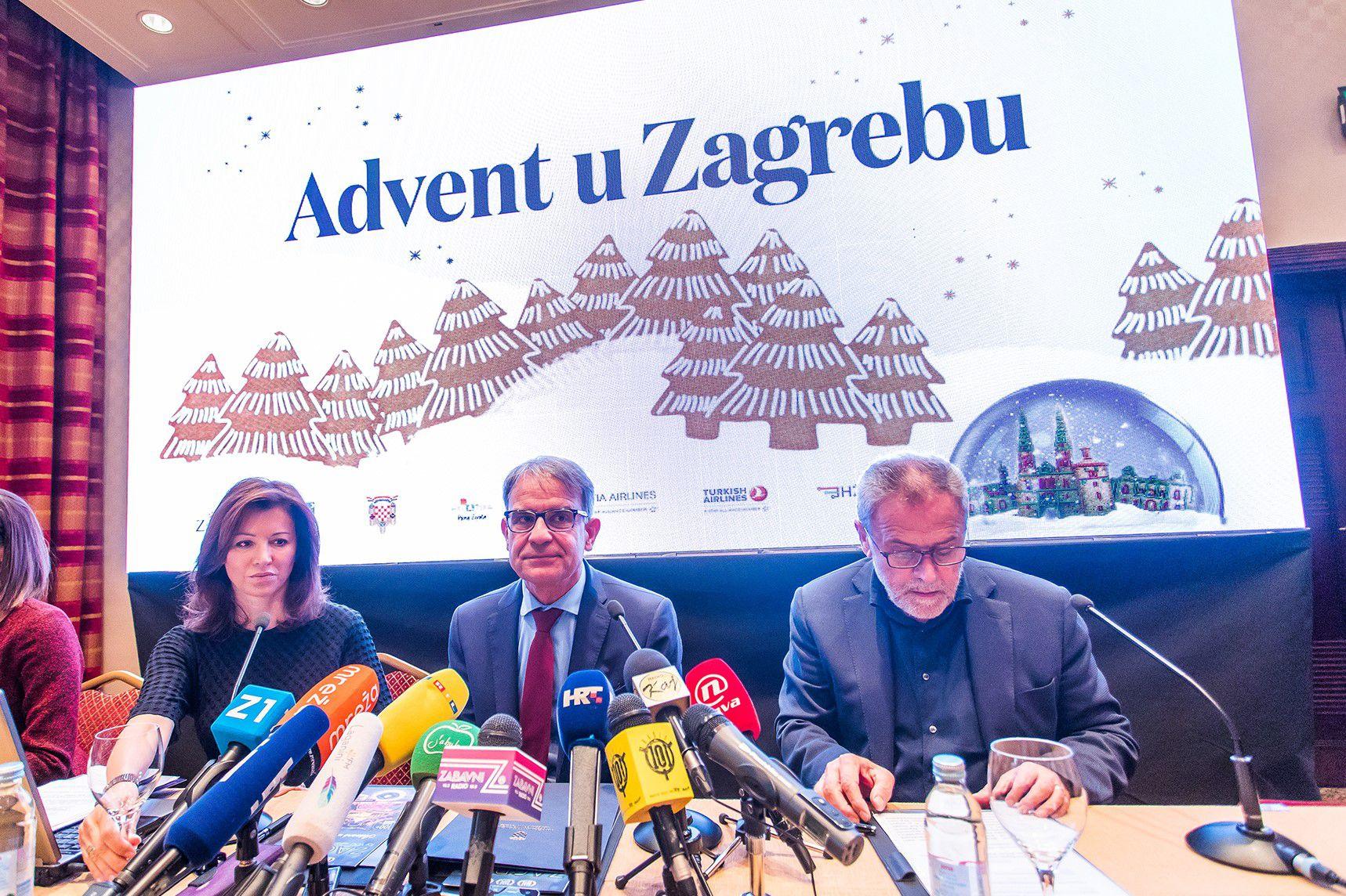 Advent u Zagrebu dobiva tri nove lokacije, a počinje 1. prosinca