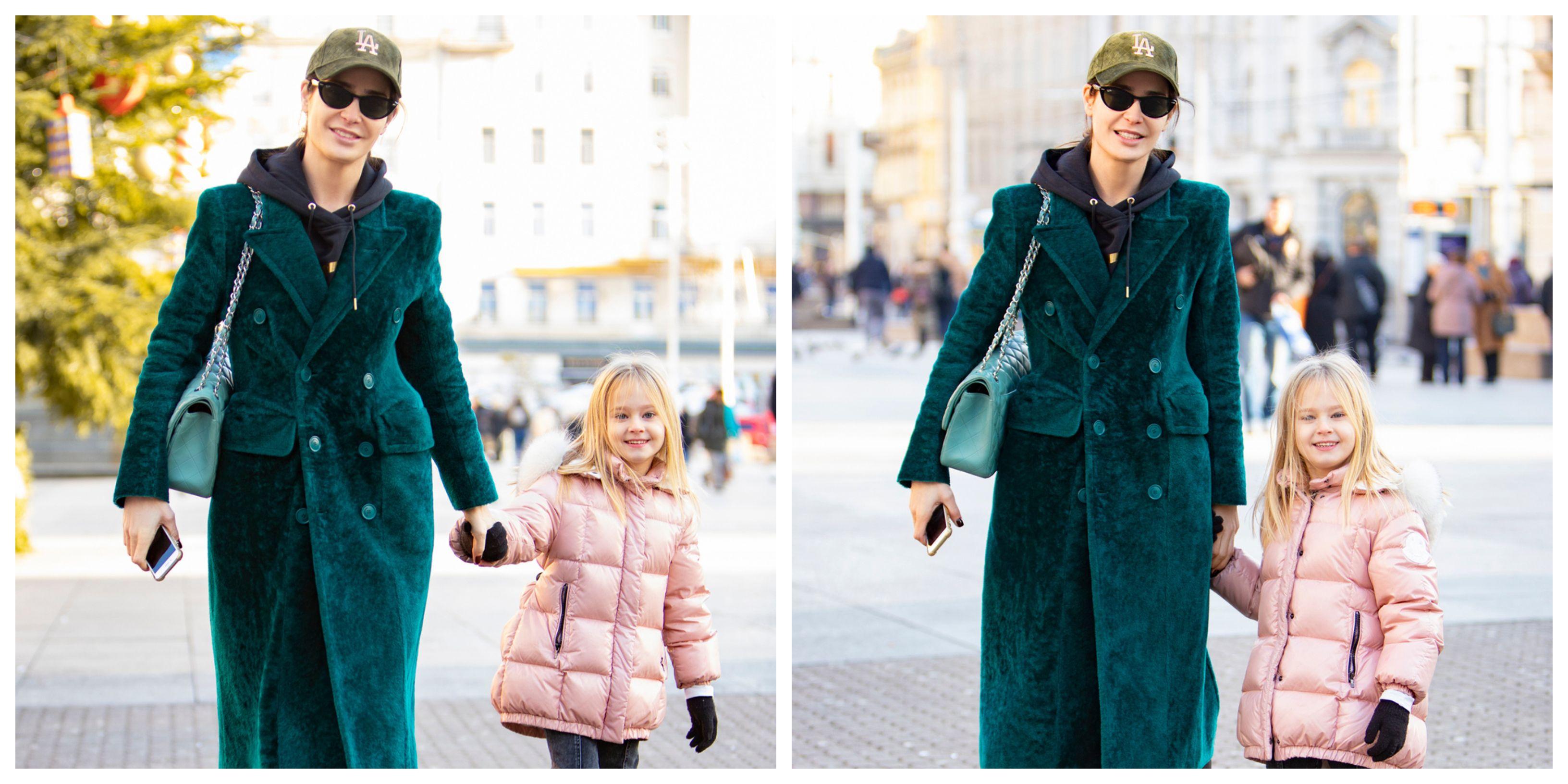 Koliko su samo divne: Mama i kćer u cool izdanjima bile su prave zvijezde zagrebačke špice