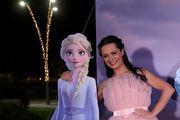 Jedna od princeza! Kristina Krepela pojavila se u bajkovitoj haljini na premijeri Snježnog kraljevstva 2