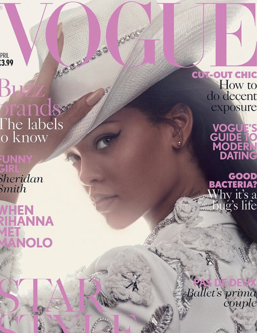 Fantastična proljetna naslovnica Voguea