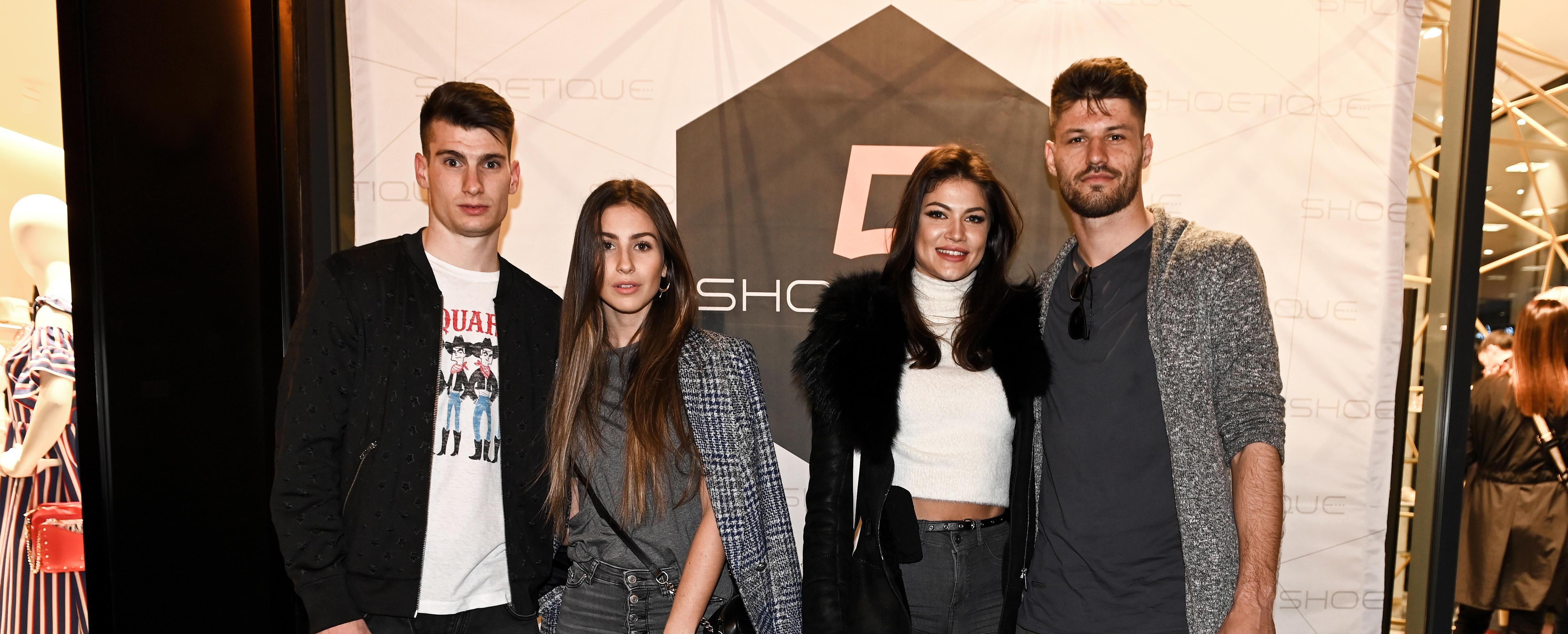 Stilski dvoboj parova: Dinamovci Bruno Petković i Dominik Livaković s djevojkama