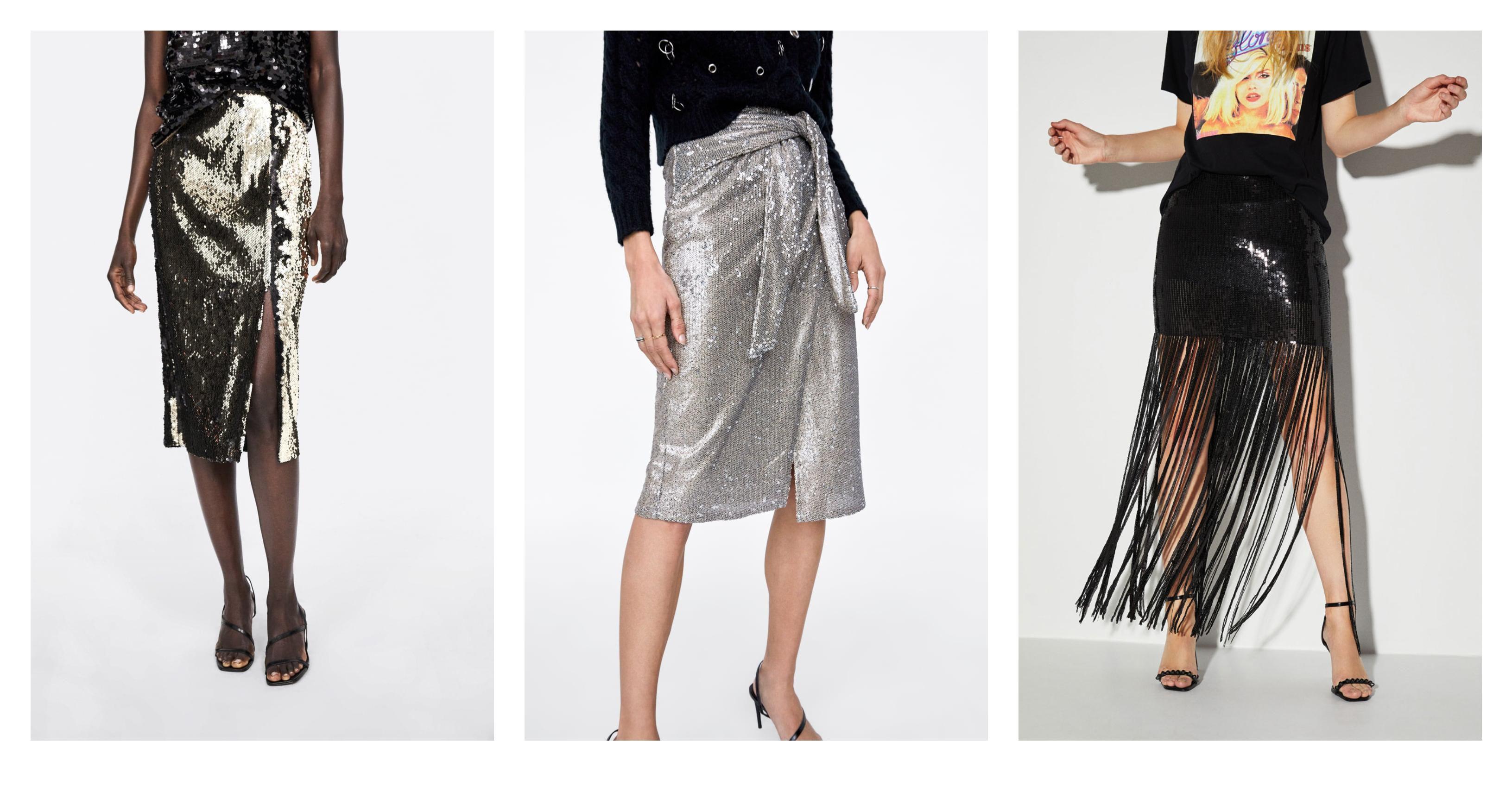Sve što vam za ove dane treba je cool šljokičasta suknja! Evo najljepših iz high street ponude
