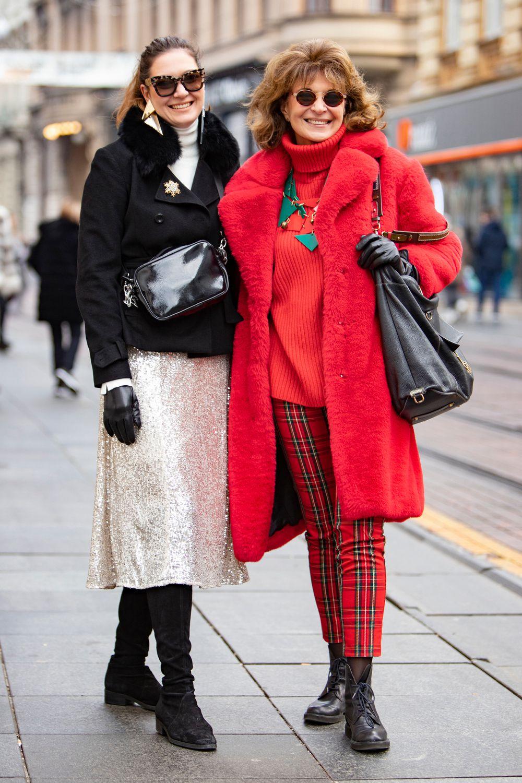 Majka i kći iz zagrebačkog centra ne mogu proći nezamijećeno, a često se i dogovaraju što će odjenuti