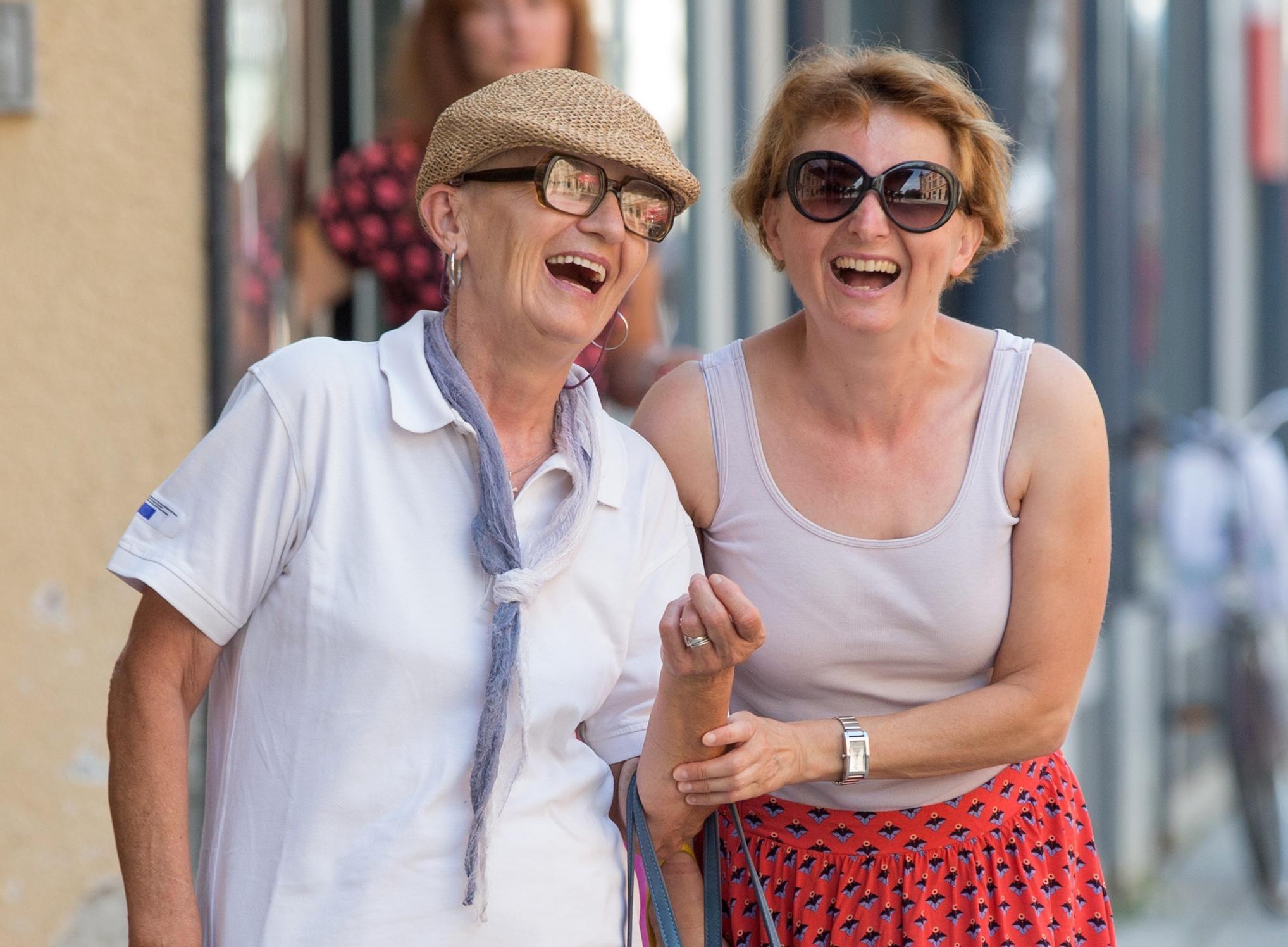Učite od njih: Ove dvije nasmijane dame apsolutno su nam uljepšale dan!