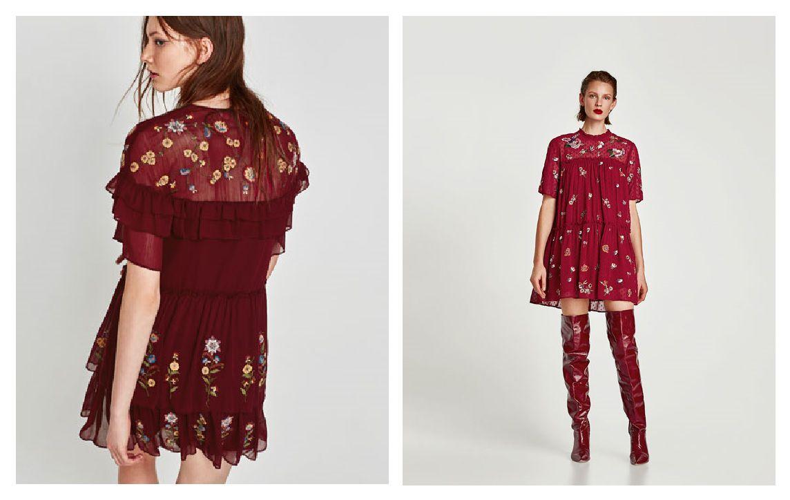 Ove jeseni uskočite u crveno: pronašli smo 10 najljepših haljina s polica high street trgovina