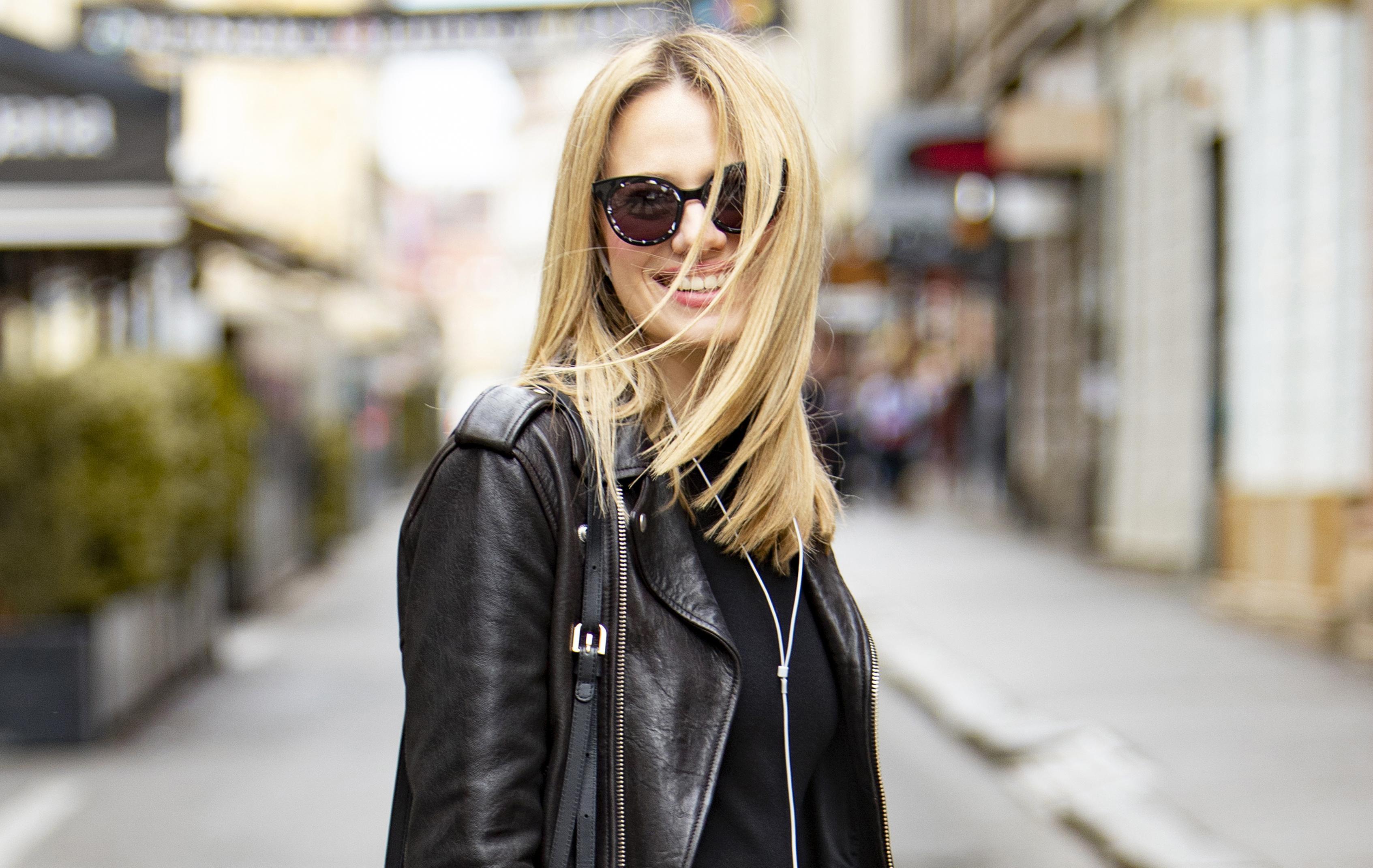 Jelena Veljača zna kako nositi crno od glave do pete; njezin ćete outfit odmah poželjeti kopirati