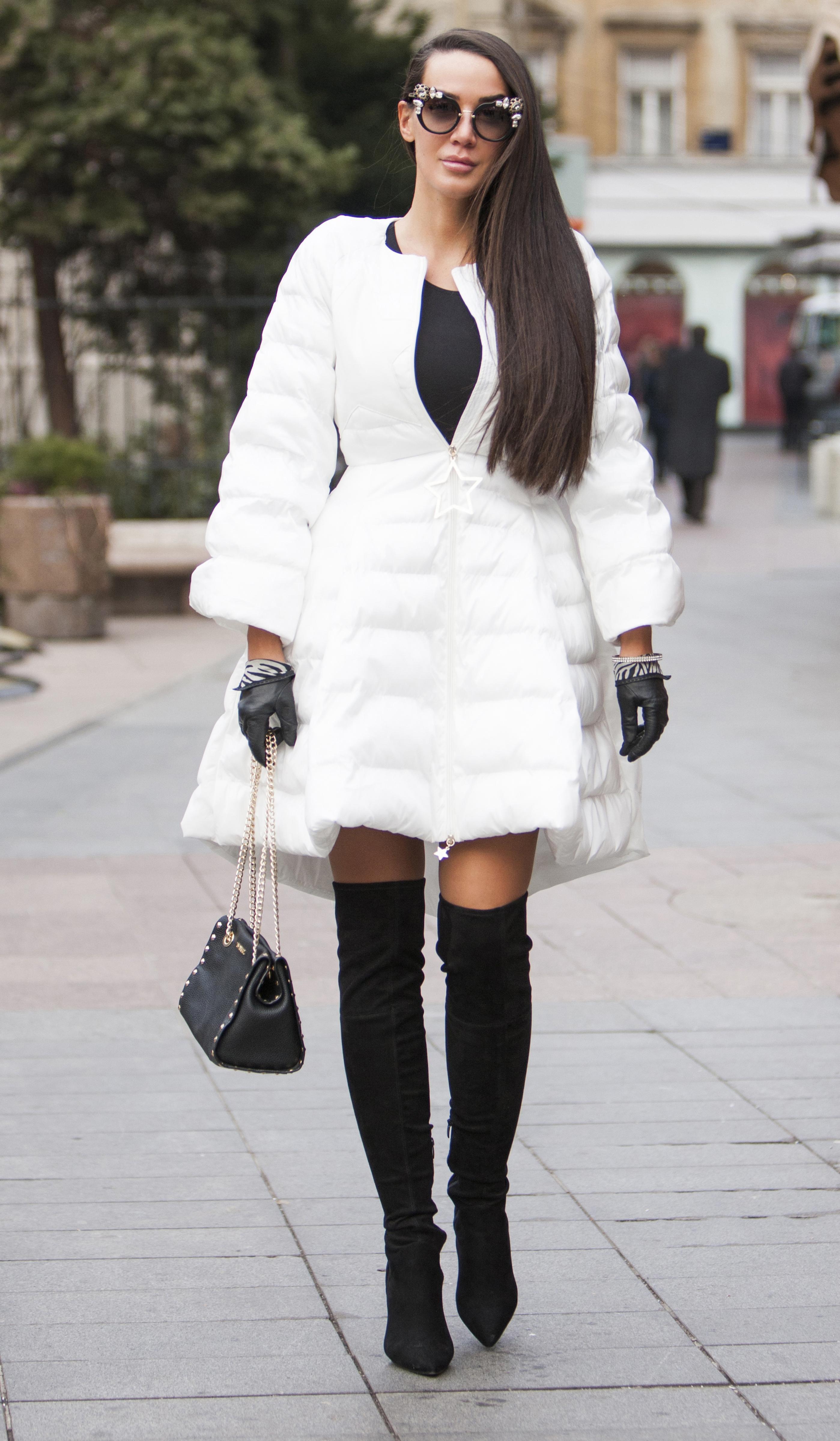"""Zgodna brineta kao iz modnih metropola: """"Volim modu i ne bojim je se!"""""""