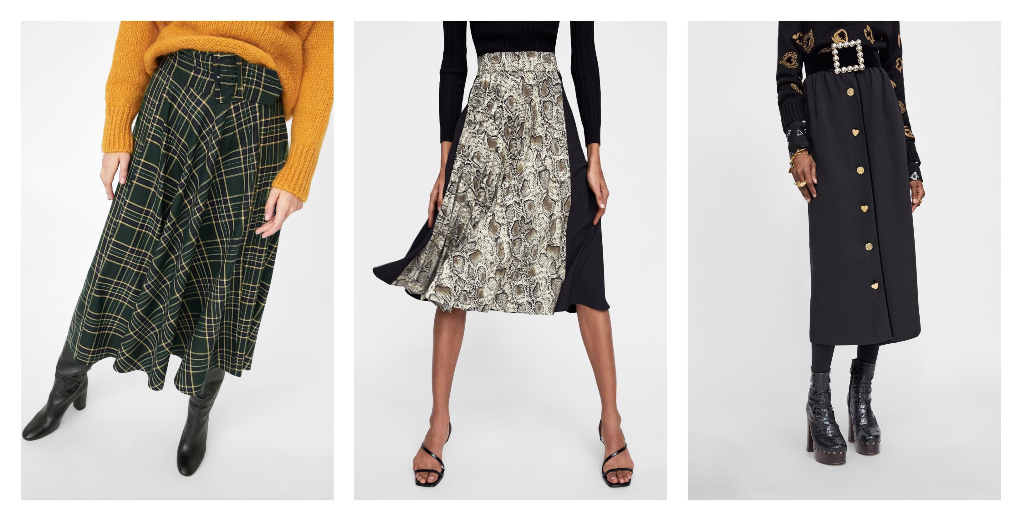 Midi suknje nisu svima po ukusu, no bit će hit i ove jeseni - izabrali smo najljepše modele iz Zare