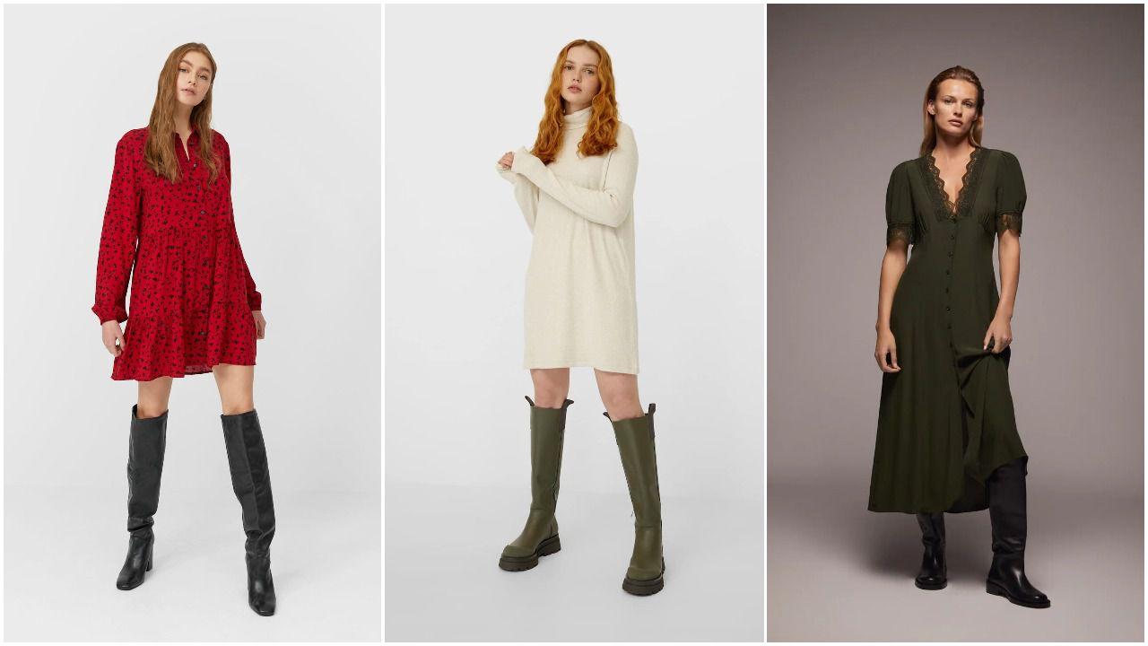 Najljepše haljine za svaki stil do 199 kn koje super izgledaju uz čizme i zimske jakne