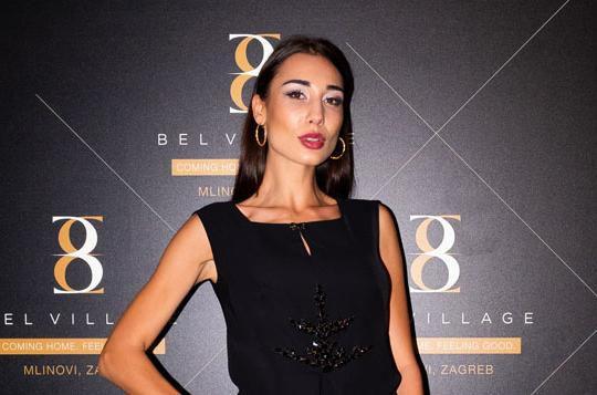 Djevojka Joška Lokasa i bivša Miss turizma izgleda senzacionalno u crnoj mini haljini