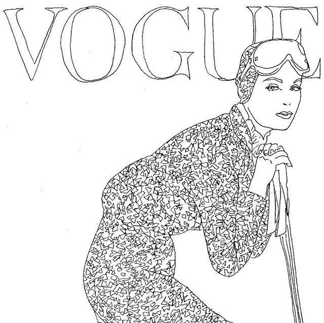 Prva Vogue bojanka