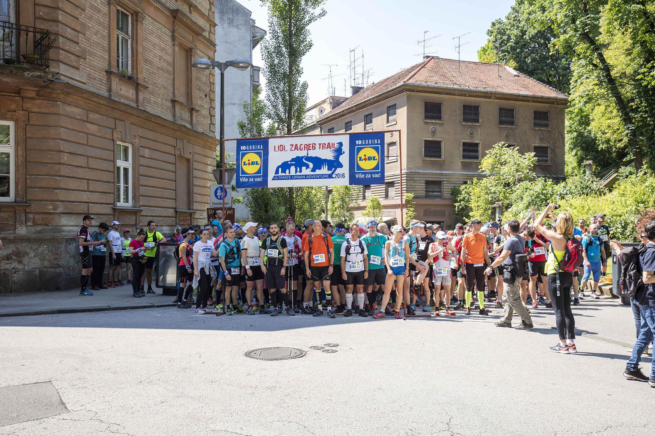 Velik uspjeh Lidl Zagreb Trail utrke