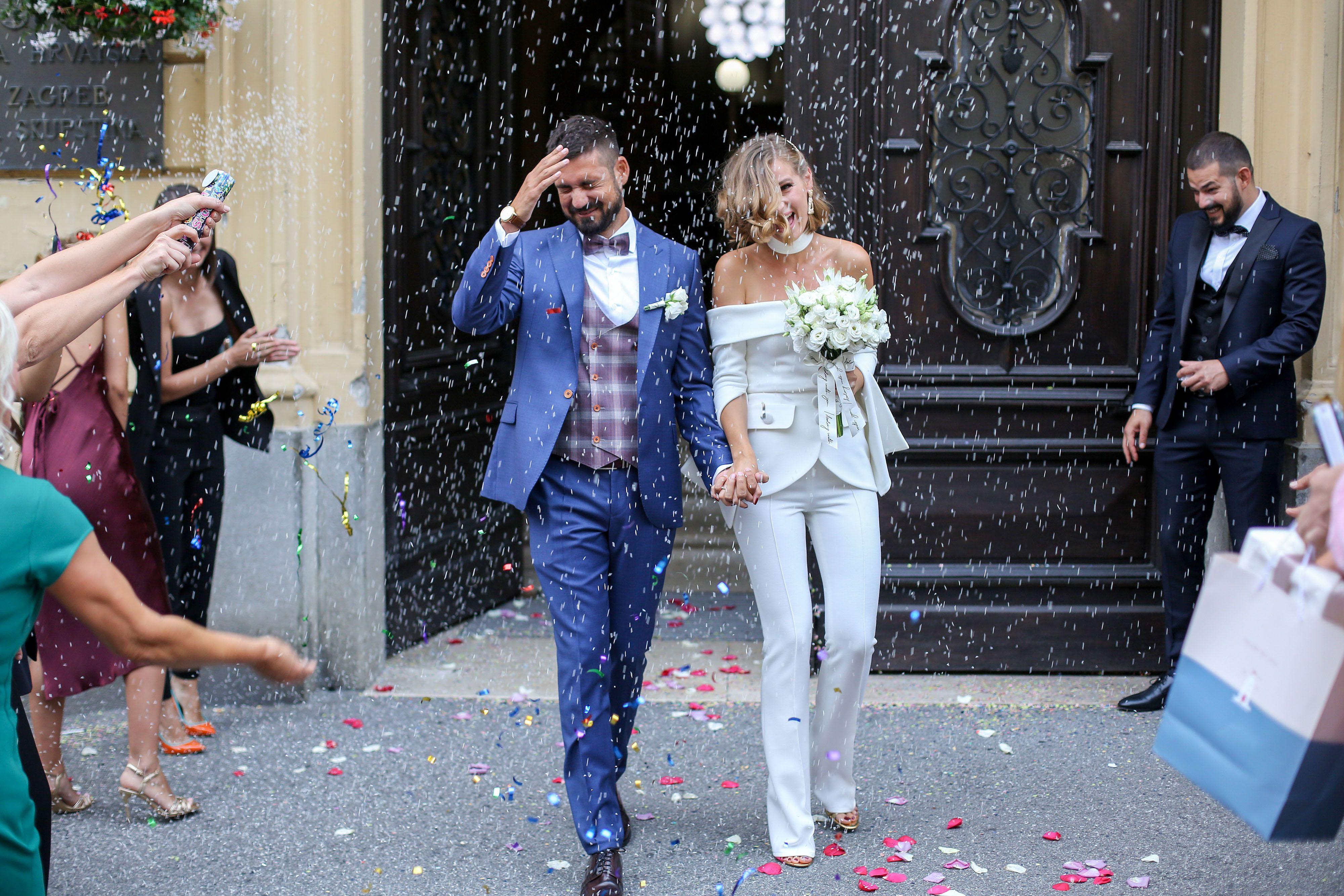 Evo koji dizajneri stoje iza odijela koja je hrvatski modni 'power couple' nosio na vjenčanju