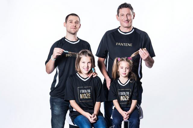 Mirza Džomba i Ivan Čupić napravili frizure svojim kćerima: I tata to može!