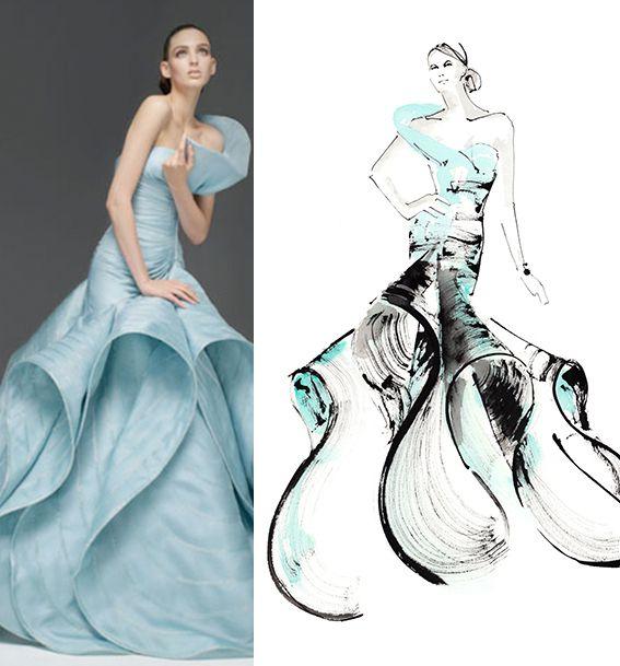 Ekskluzivne modne ilustracije u City Center one (4.dio)